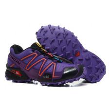 Salomon Speedcross 3 фиолетовые